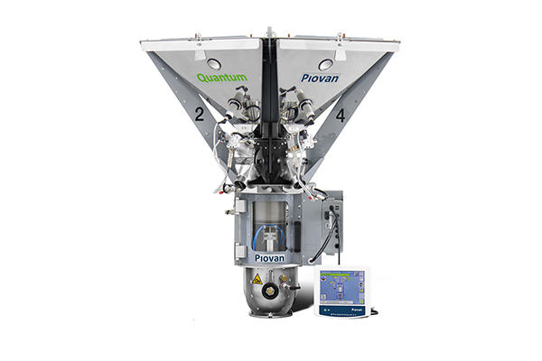 Plastics news Piovan Showcase Quantum Gravimetric Blenders at PDM