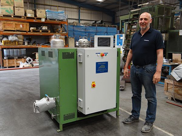 Full Steam Ahead For Longworth's Component Cleaning