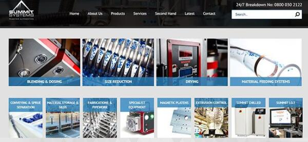 Plastics news Summit Systems website