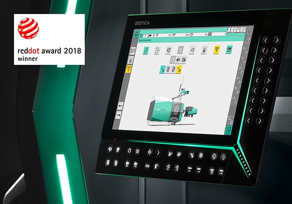 Plastics news Arburg's Gestica Control System Wins Red Dot Award