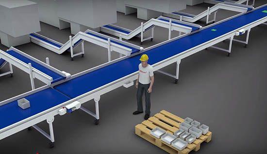 Plastics news product handling system
