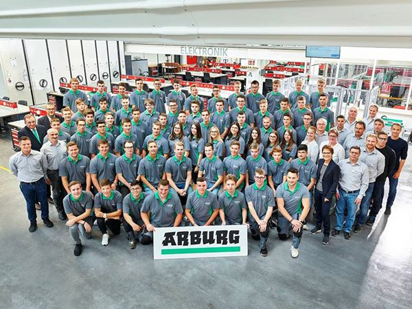 Arburg: Record Training Year 2018