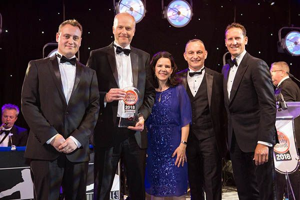 Faulkner Moulds at the Plastics Industry Awards 2018