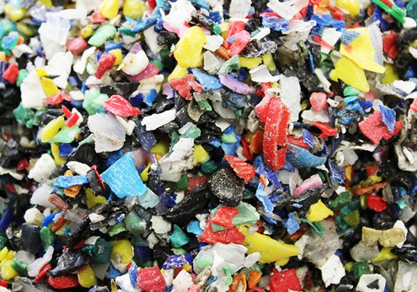 Recycled Plastic Material