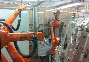 Telsonic Cutting Robot