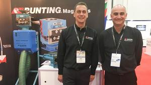 Bunting Magnetics at Exhibition