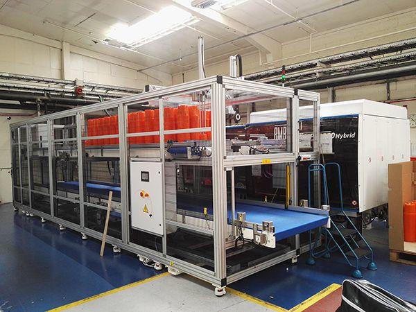 Desch Plantpak conveyor system