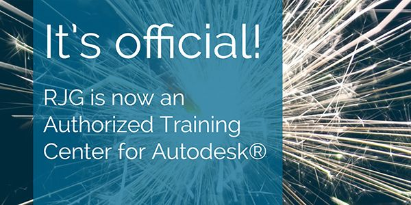 RJG Authorised training centre for Autodesk
