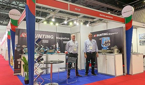 Successful ArabPlast 2019 for Bunting Magnetics