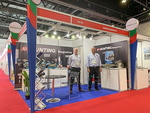 Bunting Magnetics at Arabplast