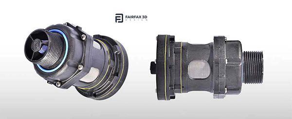 Fairfax 3D pressure relief valve