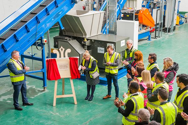 Coral launch recycling plant