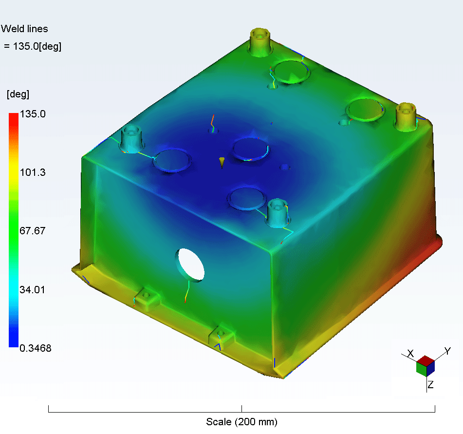 Plunkett Associates Moldflow Analysis