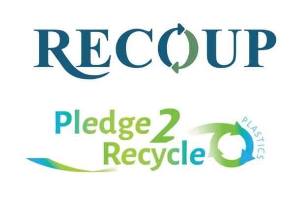 Recoup and Pledge2Recycle logos
