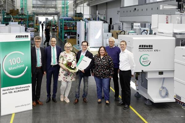 Allrounder Anniversary for Arburg & Scholz | PlastikMedia News