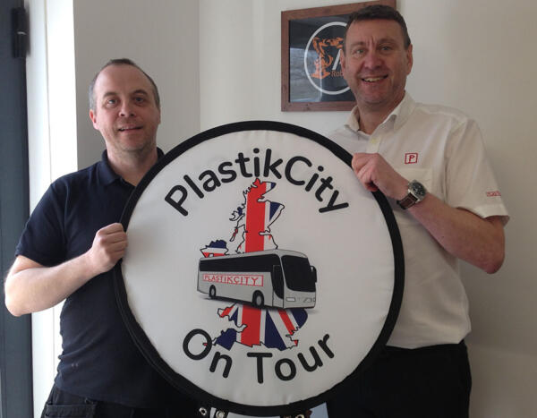 PlastikCity on Tour - AJ Robotics
