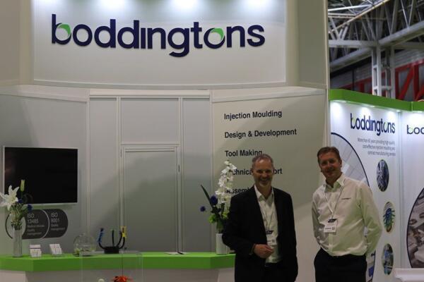 Boddingtons stand at MedTech