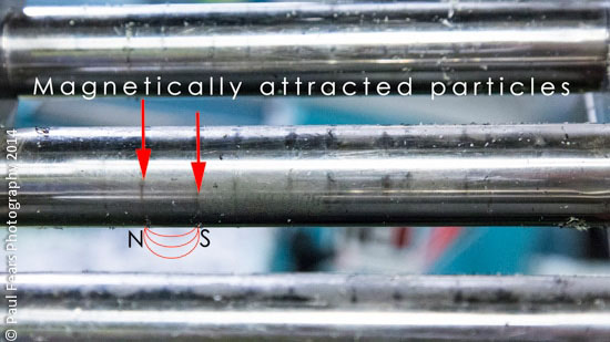 Magenetically Attracted Particles