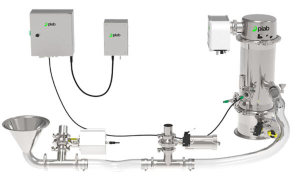piFLOW®p SMART vacuum conveying system