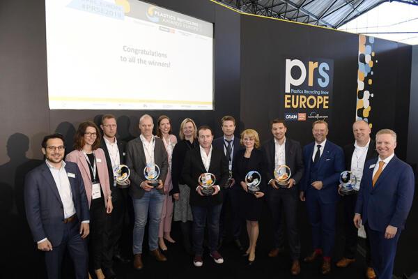 Plastics Recycling Awards Europe 2019 Winners