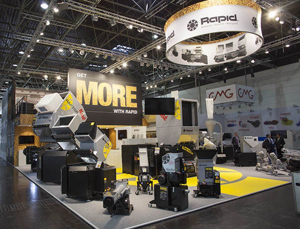 Plastics news Rapid stand at K 2016