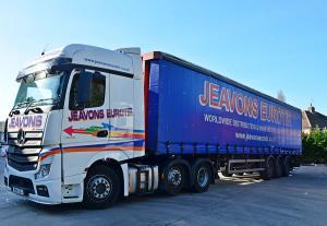 Jeavons Eurotir Vehicle