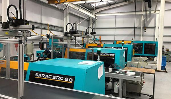 New Injection Moulding Machines for Protomould Plastics