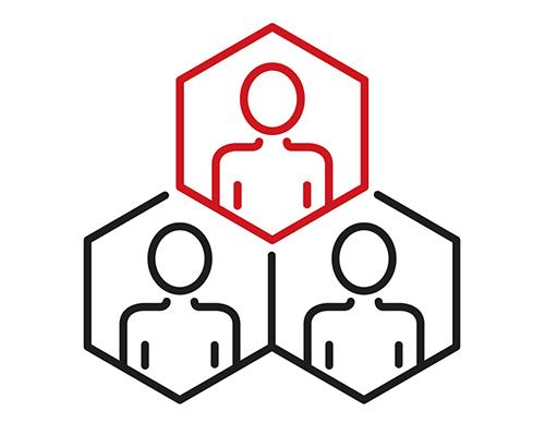Account based marketing icons