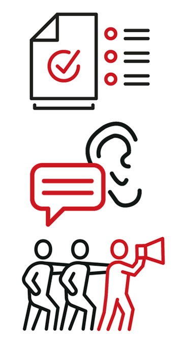 marketing collateral icons