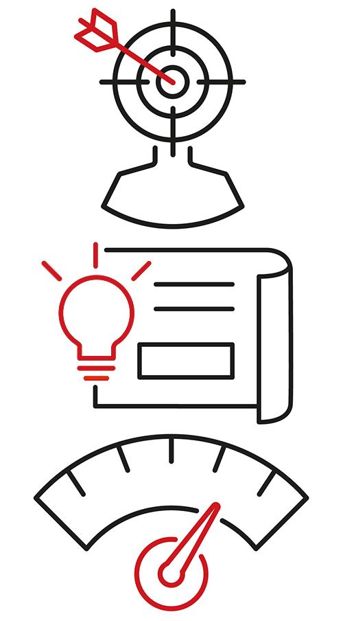 Marketing Process Icons