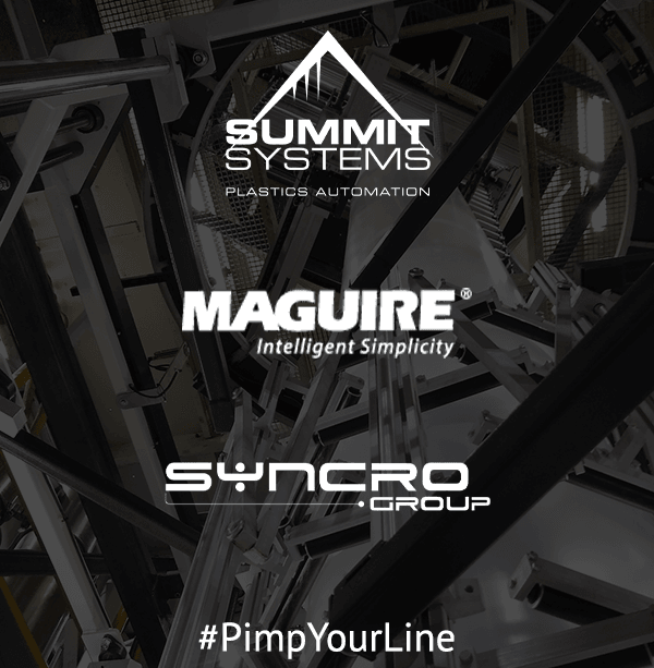 Summit Systems, Maguire & Syncro logos