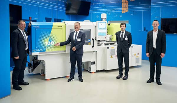 100th KraussMaffei injection moulding machine delivered to Polycom