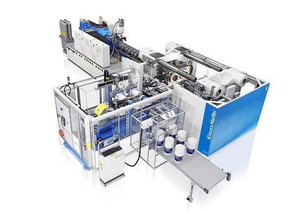 KraussMaffei GX 1300 injection moulding machine