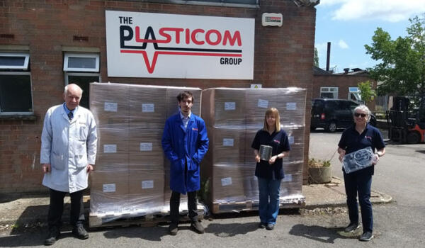 Plasticom Recognised for Contribution to Ventilator Challenge UK