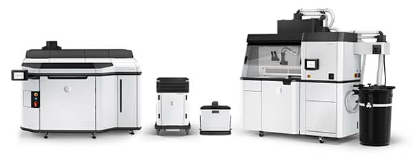 The latest HP MJF Series 5210 system
