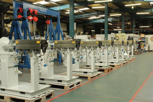 8 extruders ready for despatch