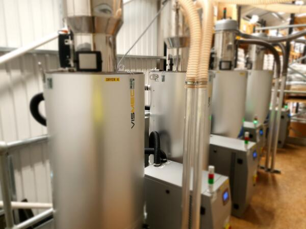 MGS Technical Plastics double drying capacity
