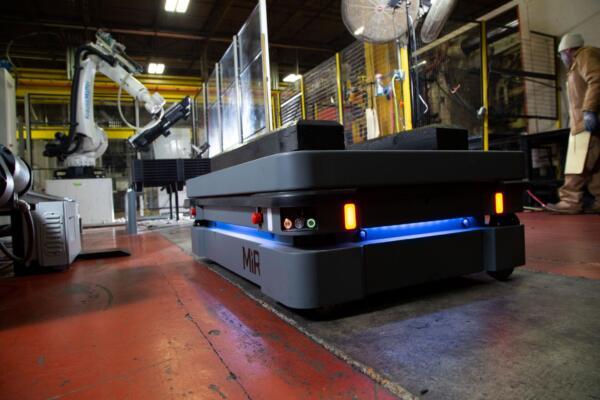 MiR mobile industrial robot