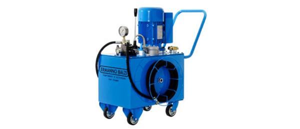 Hydraulic cylinder test station