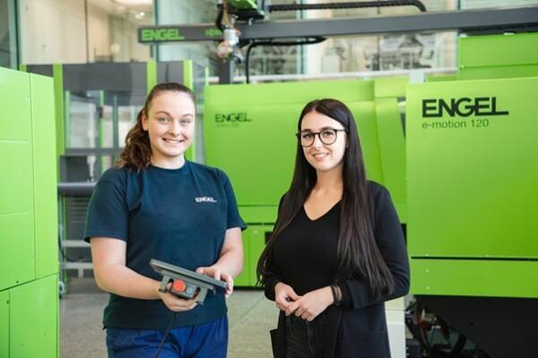 Anna and Denise, ENGEL technicians