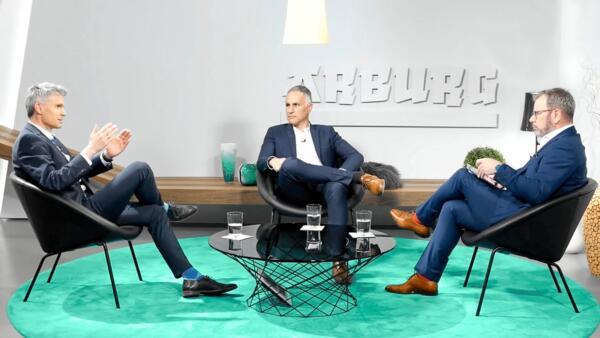 Studio Talk, Andreas Reich, Bernd Eble, Guido Marschall