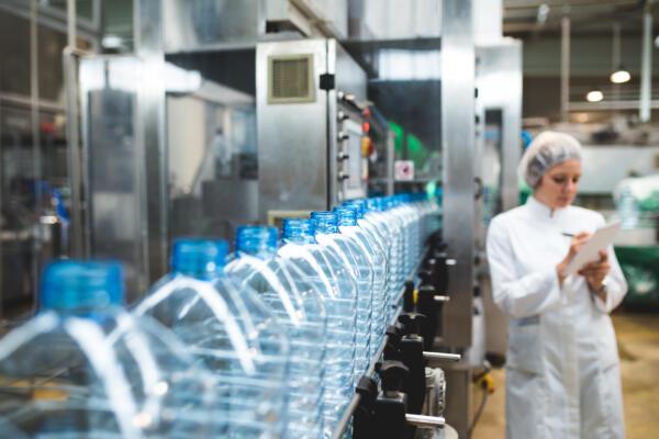 Plastic bottle production