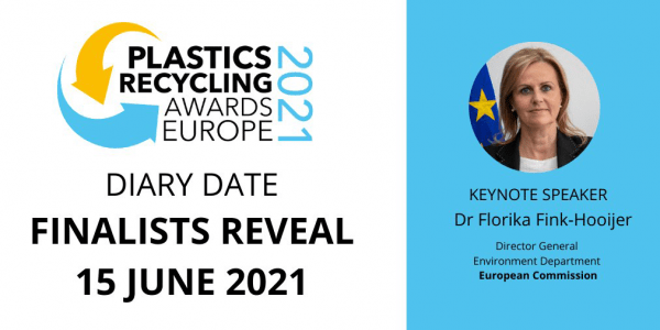 Plastics Recycling Awards Europe 2021 Finalists reveal