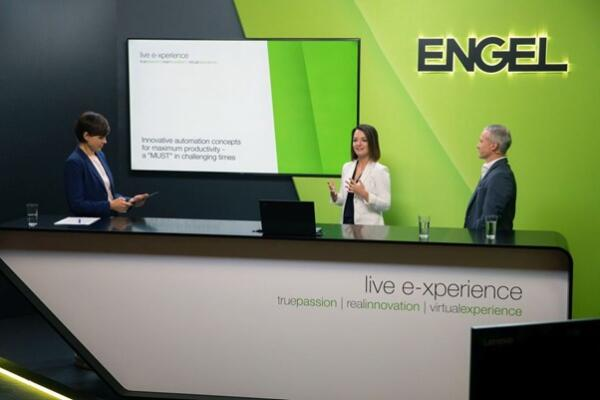 ENGEL virtual experience - Future of Injection moulding