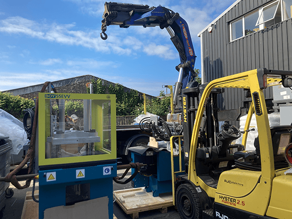 BEC Group Takes Delivery of Two New BOY Injection Moulding Machines