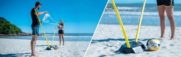 Albis, Decathlon and LyondellBasell Collaboration Volleyball Stand