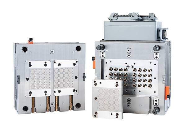 HASCO Mould with Additively Manufactured Hot Runner System