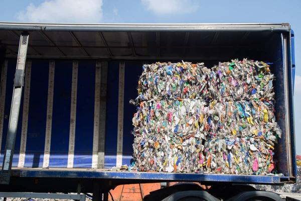 Bunting: Baled Plastic Waste