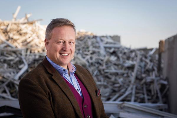 VEKA Recycling's Managing Director Simon Scholes