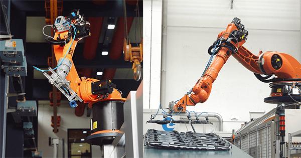 KUKA Robotics UK Robots Collage